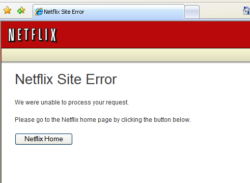 NetflixOutage?